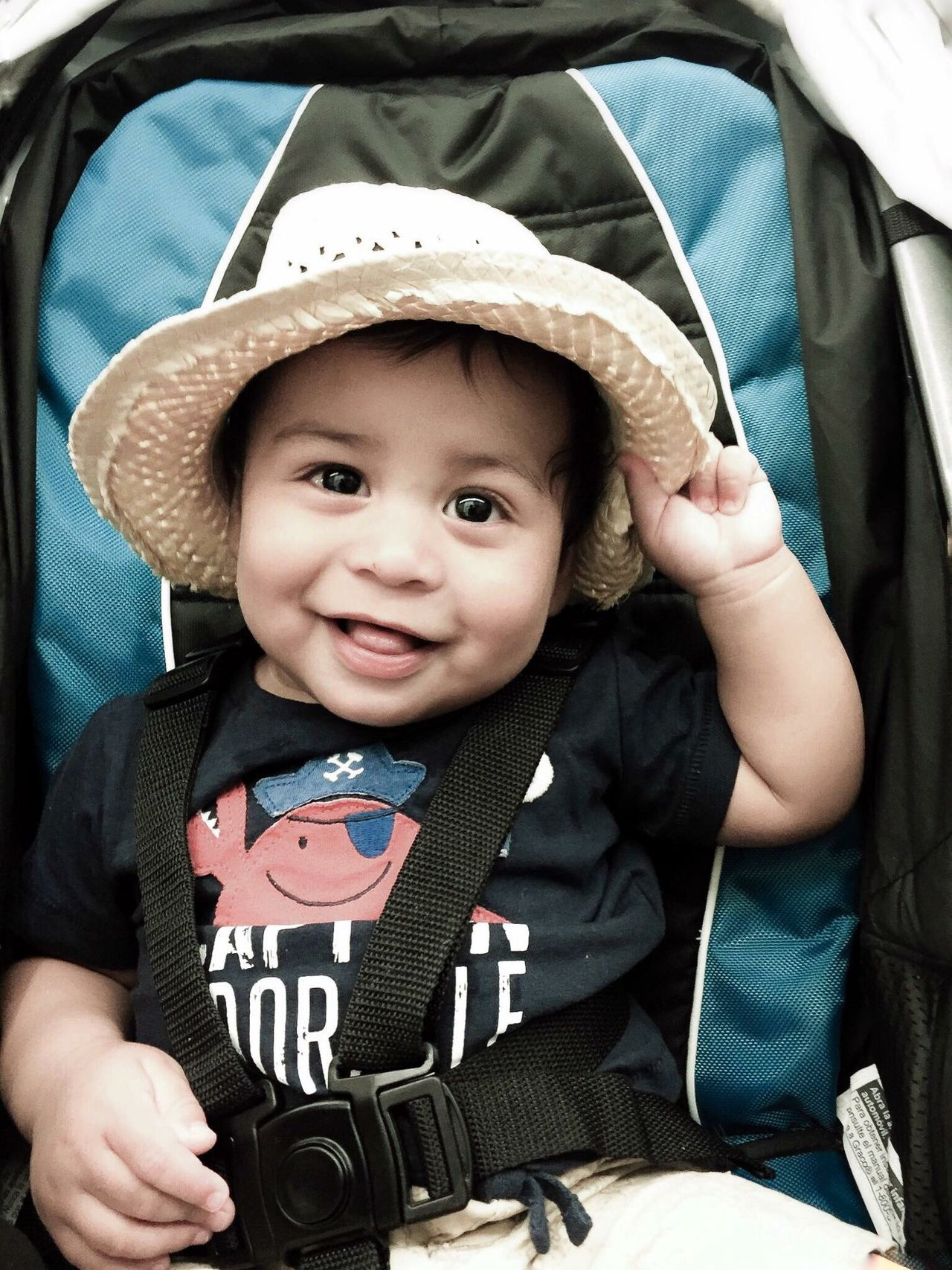 My babyboy modeling for us and showing his beautiful smile Baby Photography Babyboy Portraitist-2016 Eyeem Awards PortraitPhotography Casualphotography Photographer And Model Focus Looking At Camera Lifestyles Baby