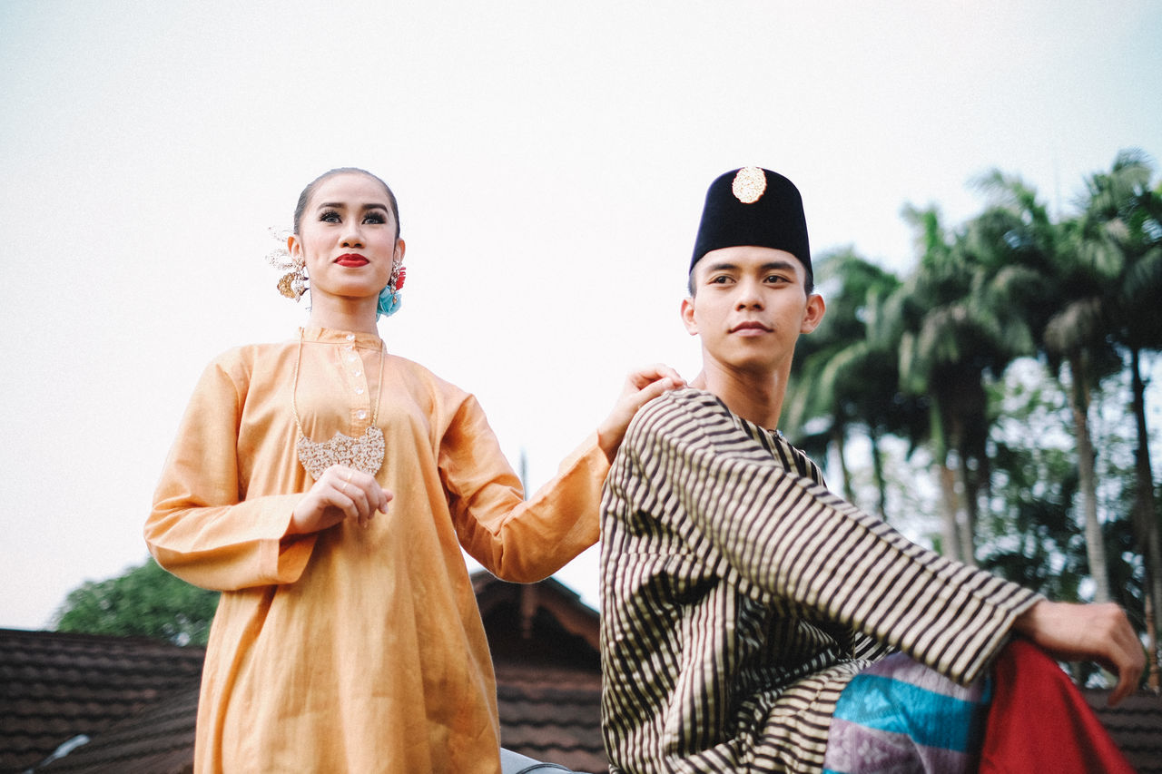 Adult Adults Only Bonding Day Fashion Friendship Fujifilm FUJIFILM X-T10 Fujifilm_xseries Malaysia Only Women Outdoors People Period Costume Portrait Sky Togetherness Traditional Traditional Clothing Traditional Costumes Two People Young Adult
