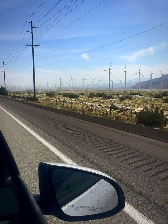 Exploring Green Energy Desert Roadtrip