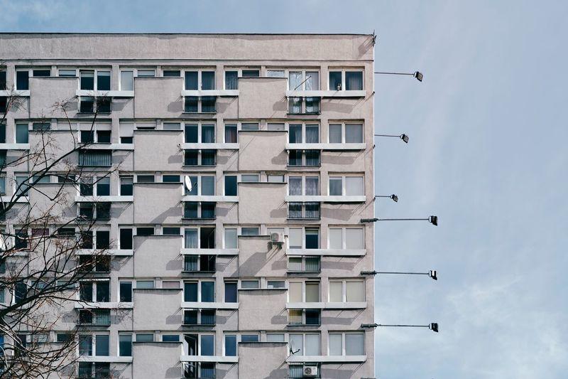 Warsaw Warsaw Poland Plattenbau Architecture Architecture_collection Architectural Detail Socialism