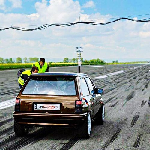 Race1000 Corsa a Turbo Car Transportation Mode Of Transport Sky Road Two People Day Cloud - Sky Land Vehicle Outdoors Togetherness Men Nature Bride Adult People Race1000 Opel Corsa Turbo