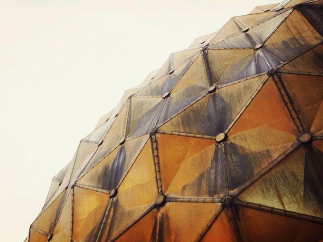 Urban Geometry Museum Planetarium Yellow in Taipei