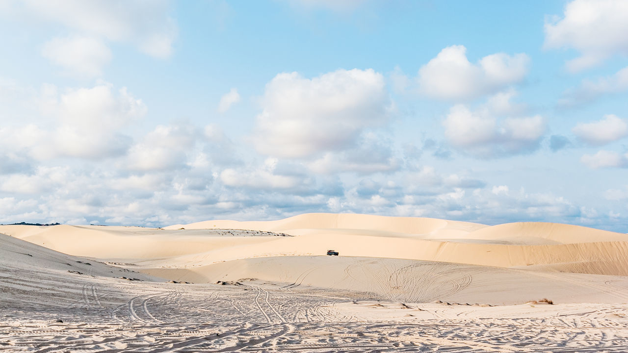 Cloud - Sky Day Desert Landscape Mui Ne, Vietnam Nature No People Outdoors Sand Sand Dune Sky Vietnam