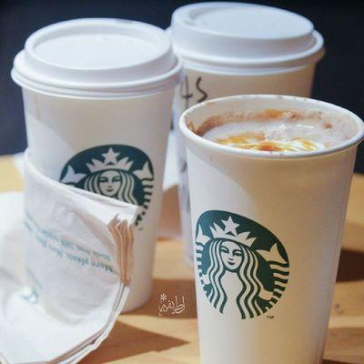 """Starbucks  ستاربكس  تصويري """" أجمل ما يقال كل صباح اللهم إني وكلتك أمري ، فأنت خير وكيل ودبر لي أمري فإني لا أحسن التدبير . صبحكم الله بالخير?"""""""