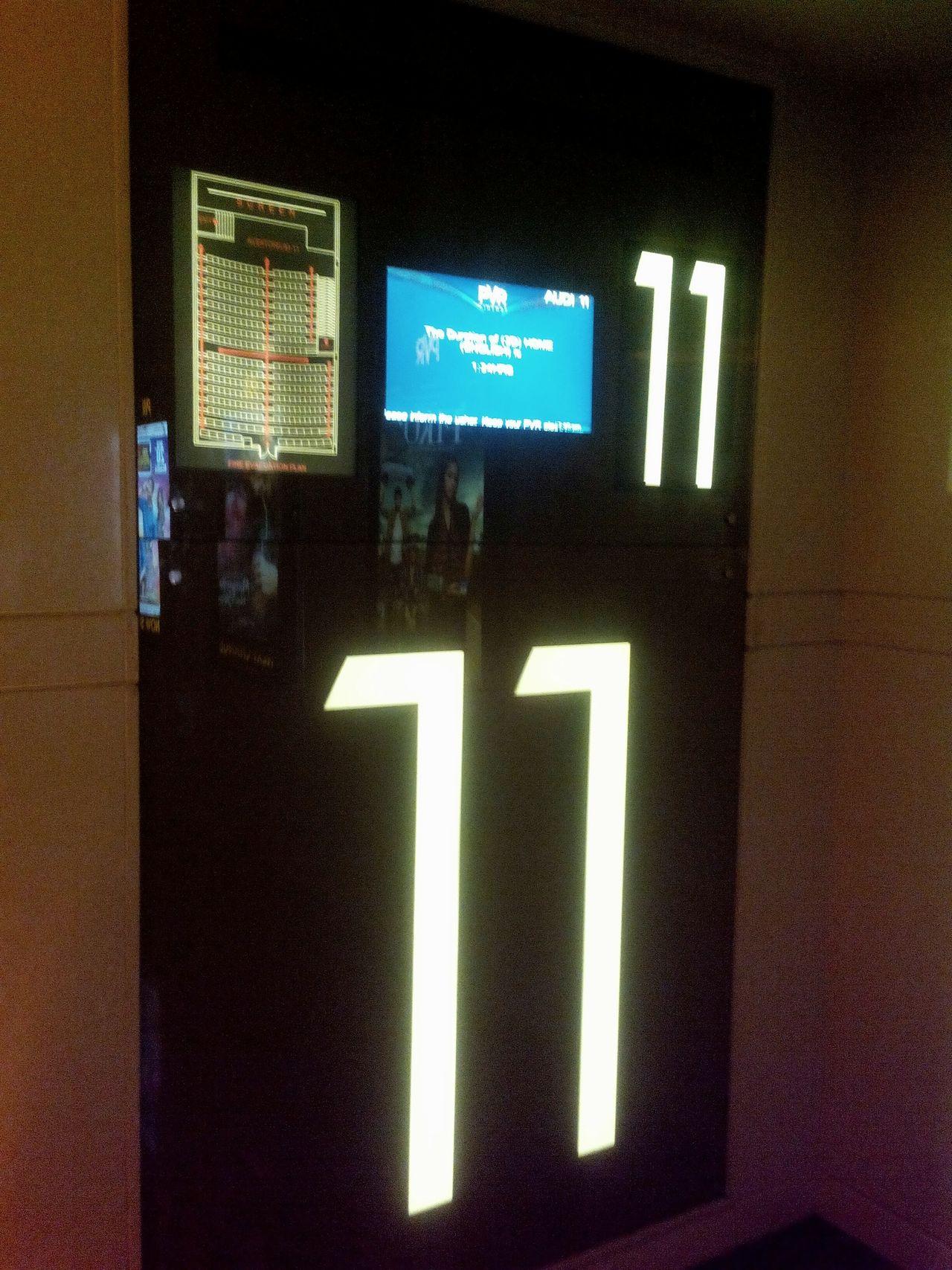 Illuminated Digital Display 11:11 Make A Wish