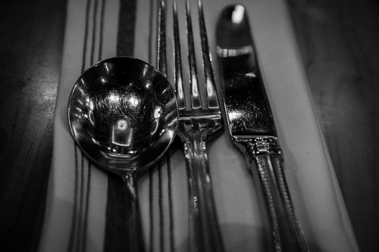Cutlery Food And Drink Mealtime Old Fashion Style Restaurant Simplicity Still Life Table