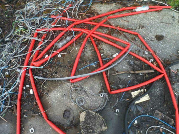 The Art Of Decay Decay Trash Urban Geometry Geometric Shapes Dumping Rubbish