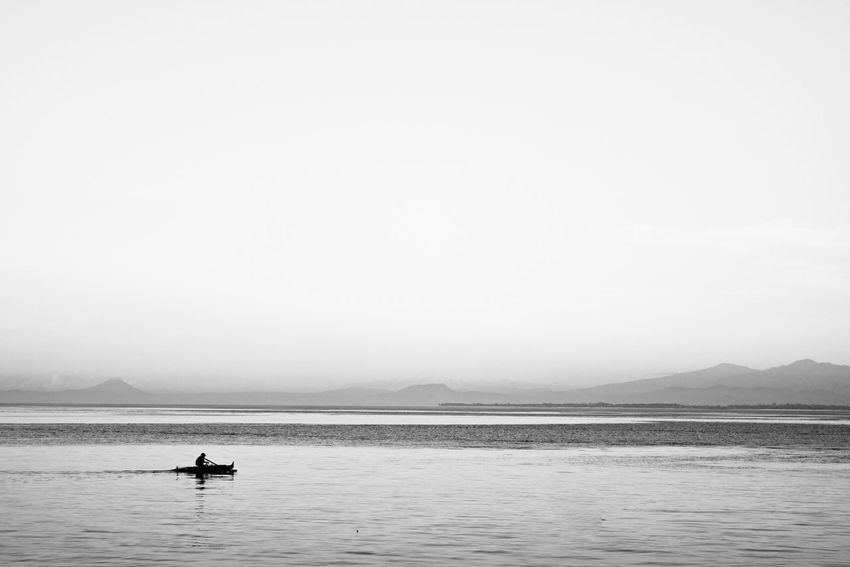 Drifting... B/W Photography Black And White Check This Out Horizon Over Water Myperspective Throughmyeyes Eye4photography  Mypointofview Write With Colors Simply Beautiful Capture The Moment EyeEm Best Shots EyeEm Best Edits EyeEm Gallery Eyeem Philippines My Favorite Photo