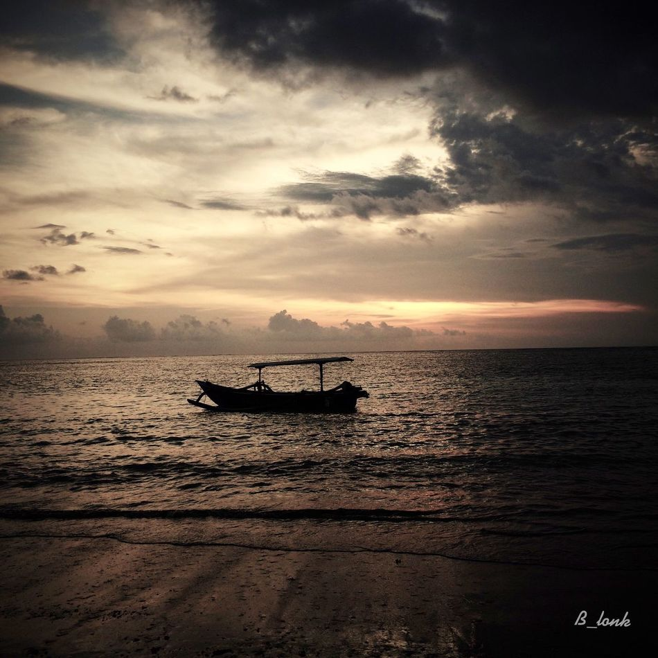 When . . . At Kuta beach, Bali IPhoneographer Clouds And Sky IPhone Photography Sunset Silhouettes Eye4photography  Sunset_collection EyeEm Best Shots Landscape_Collection Monochrome EyeEm Nature Lover