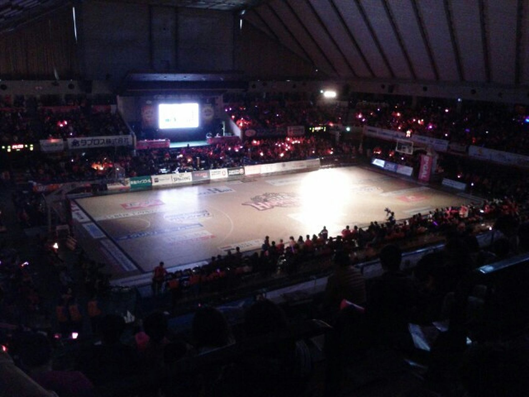 Basketball BJleague 秋田vs新潟 県立体育館