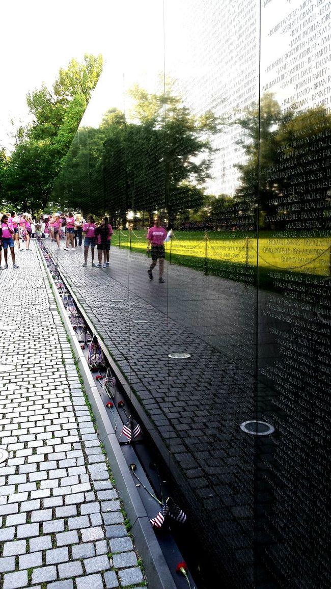 Vietnam War Memorial in Washington, D.C. Travel Destinations Tourism Vacations USAtrip USA Photos Usa Travel Washington, D. C. Vietnam War Memorial First Eyeem Photo