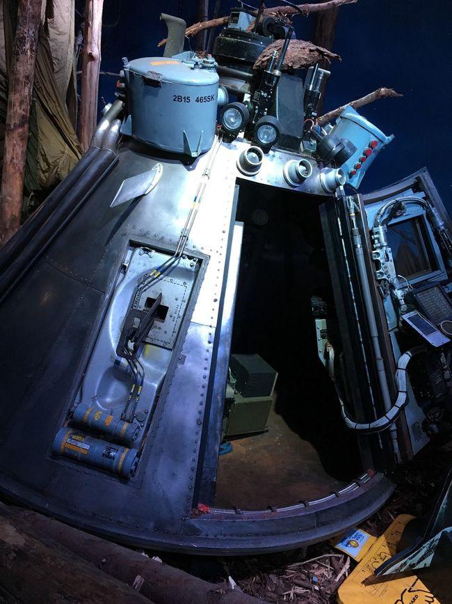 Munich Bavaria Biggame Bavaria Filmstadt Life-saving Capsule Emergency Capsule