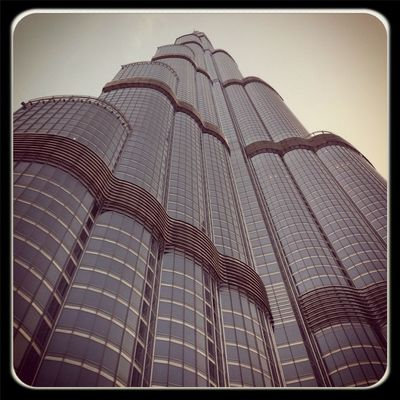 Architecture at Burj Khalifa برج خليفة by Elie Akl