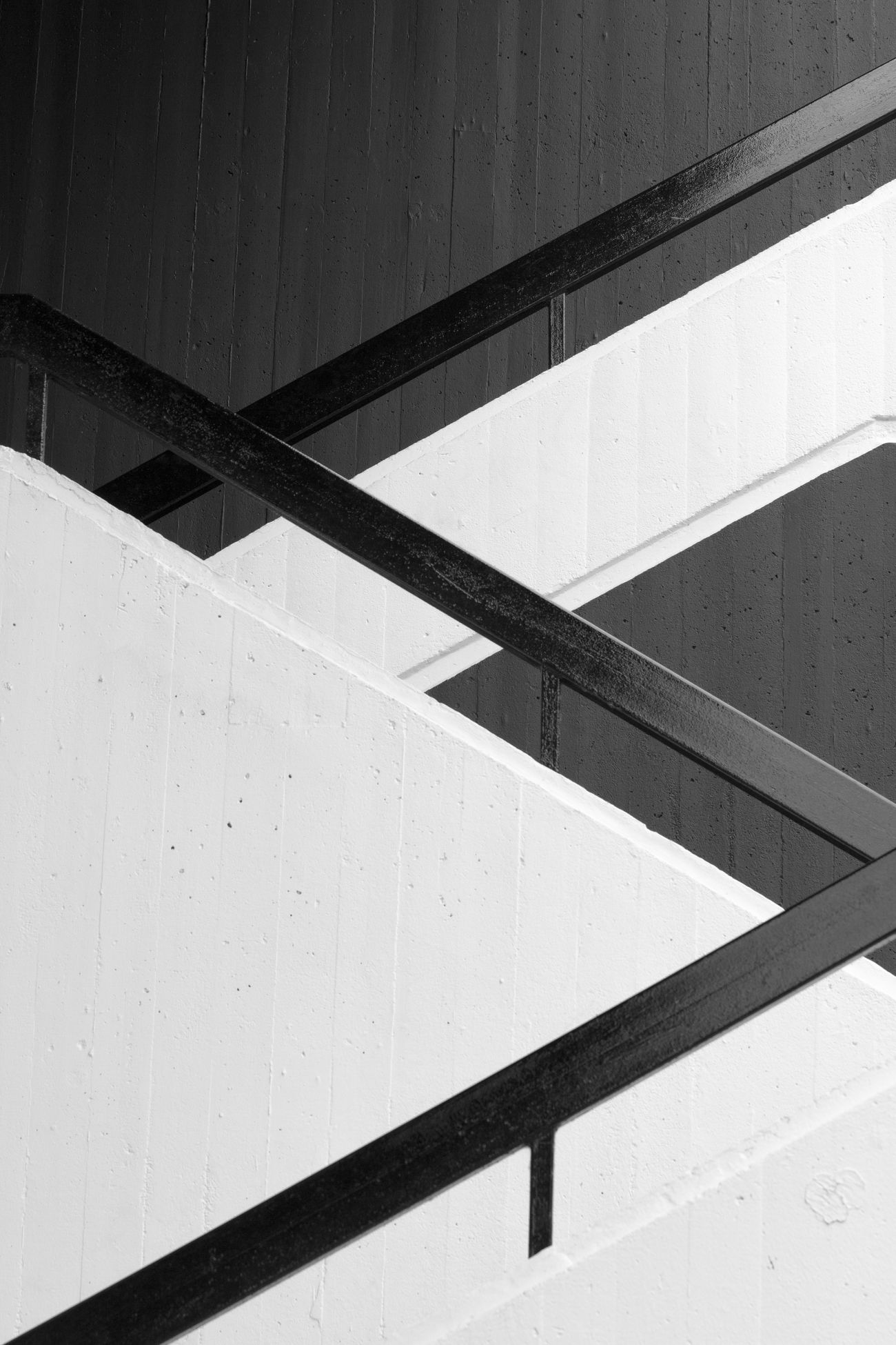 Architecture Black And White Black And White Photography Blackandwhite Geometric Geometry Monochrome No People Pattern Staircase Steps And Staircases