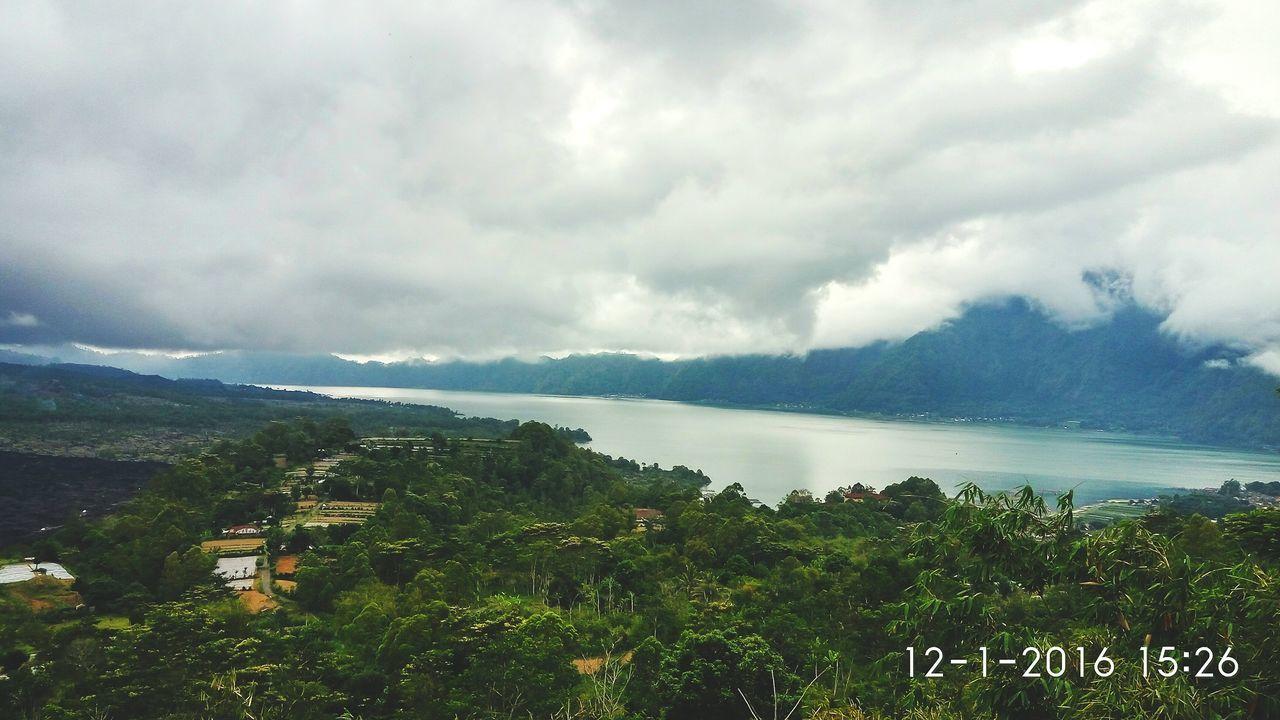 Batur lake Travel Lake Nature Landscape Mountain Beauty In Nature Rain Storm Cloud - Sky Travel Destinations
