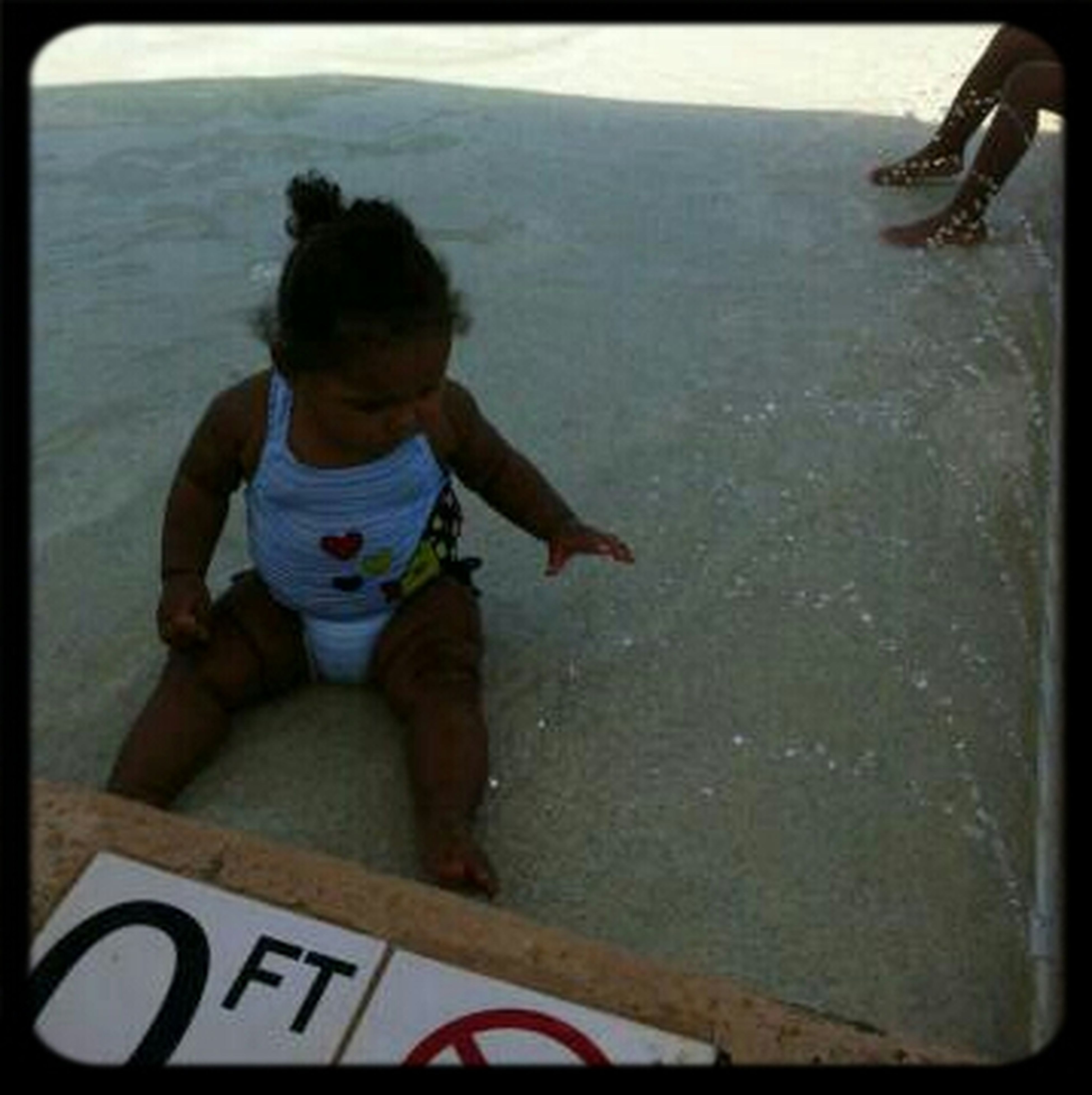 My Niece Swimming In 0 FT