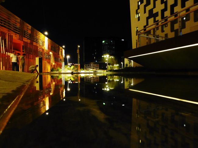 Reflection water Water Reflections Symetry Symétrie Nightphotography Wu