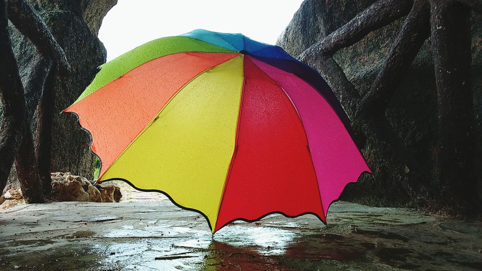 Hello World Hi! Beautiful First Eyeem Photo Hi! ☺ Umbrella Colorful ☔