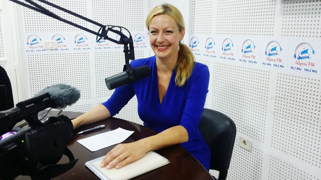 Interview for Radio Elysee Fm at Djerba about our action for peace for Tunisia! Please have a look: www.facebook.com/forpeacetunisia Peace Tunisia Djerba  Tunisians Peacetunisia Oneworld