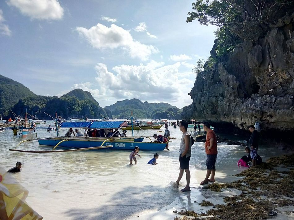 Island hopping at Caramoan Islands in the Philippines Beach Outdoors Water Sea Sunlight Scenics Summer Swimming :) CaramoanIslands Caramoan Island, Camarines Sur Caramoan Island, Philippines Caramoan