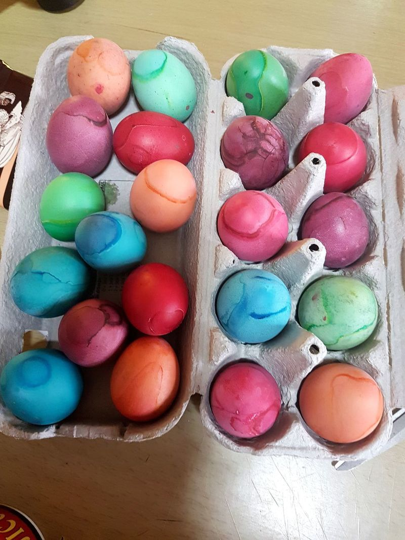 Easter Eggs Coloring Food Multi Colored Variation Easter No People Indoors  Choice Large Group Of Objects Sweet Food Close-up Day Food Stories