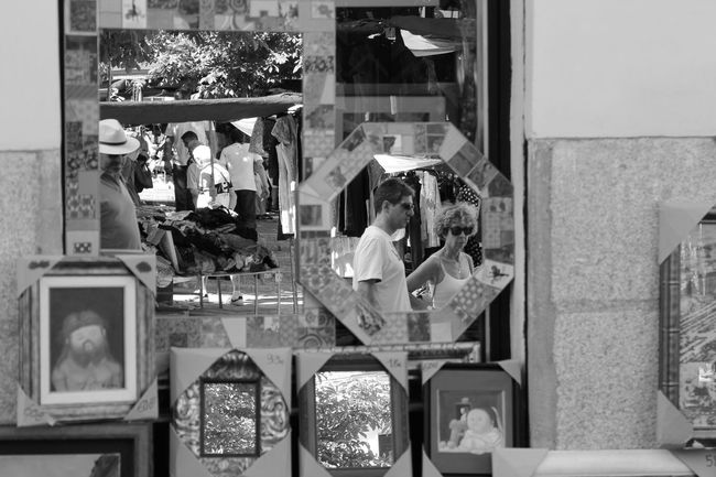 Group Of Objects Power Supply Casual Clothing Large Group Of Objects Repetition Retail  Shelf Choice Person Messy Freshness Rastro Madrid SPAIN Mirror Reflection Reflections Blackandwhite Check This Out Hello World Taking Photos Enjoying Life EyeEm Best Shots Fleamarket Flea Markets