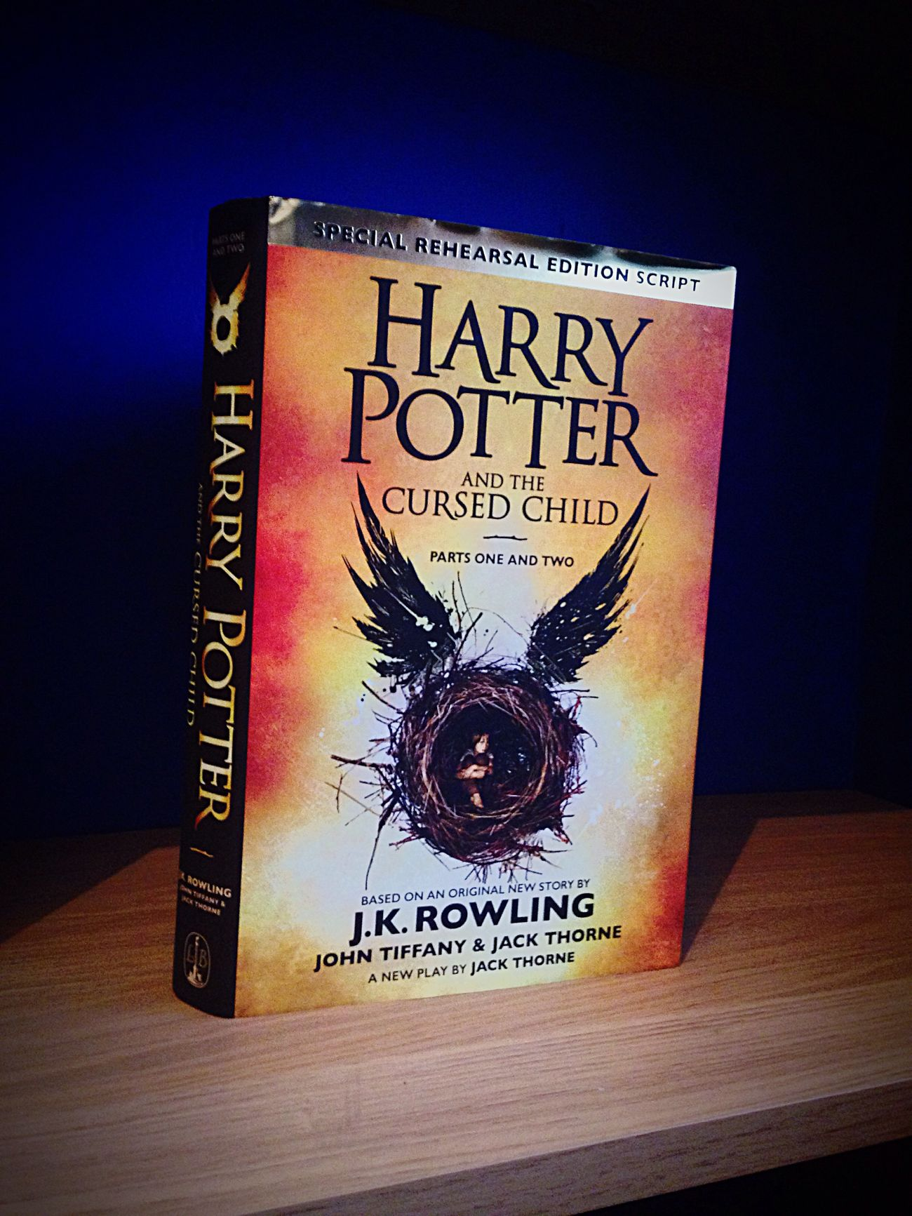 Text Harrypotterandthecursedchild J.k. Rowling Bought This Loveit