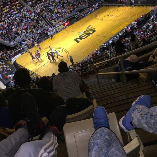 Jordans Raptor 7s Pantone Alabama State College Basketball Basketball MyASU