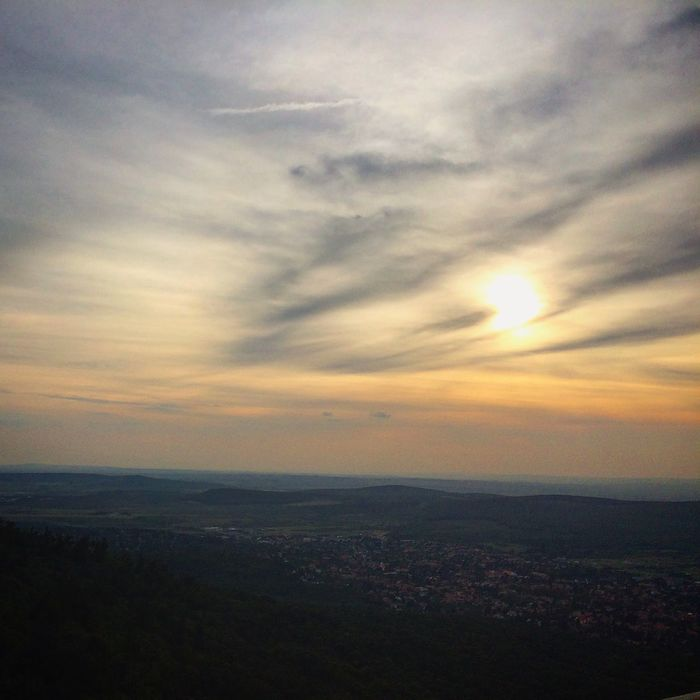 Summer Budapest Erzsébet Kilátó Sunset Abovethecity View Viewpoint IPhoneography Urban Landscape Nofilter Autumn Lovemylife Inspired By Nature