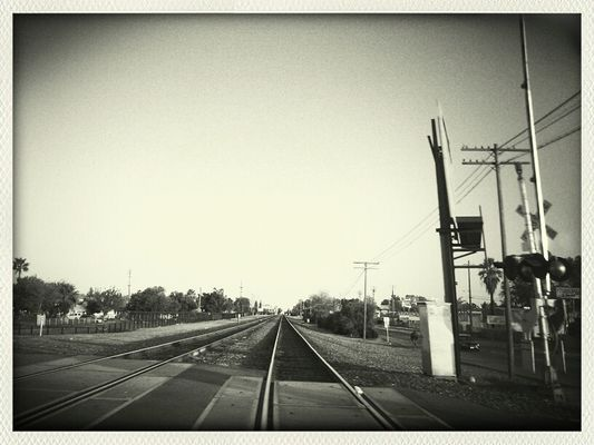 Train Tracks in Fresno by NicoleOfTheDead