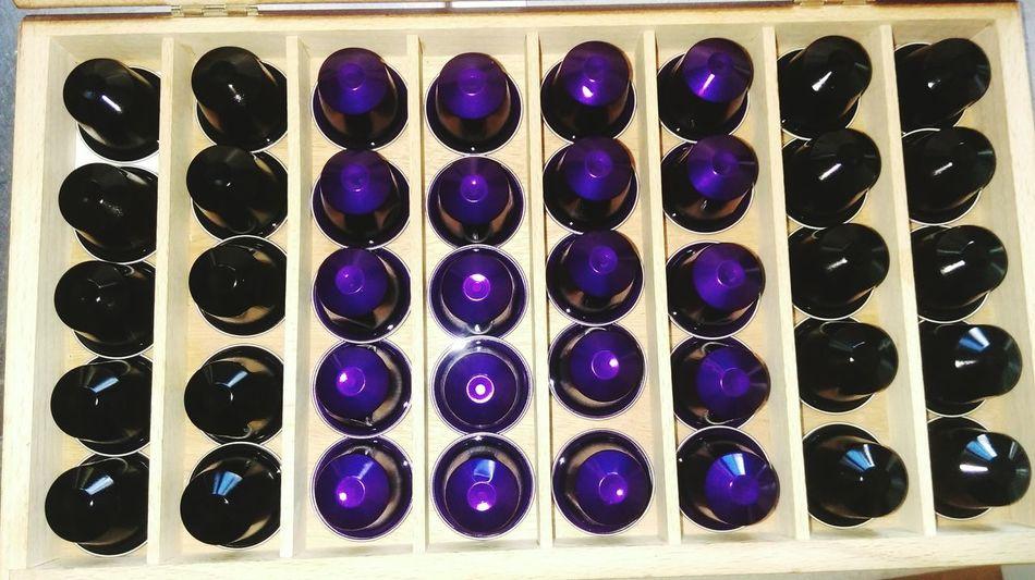 Coffee Nespresso Nespressomoments Coffee Time Coffee ☕ Purple Yammy!!  Love ♥ Big Love