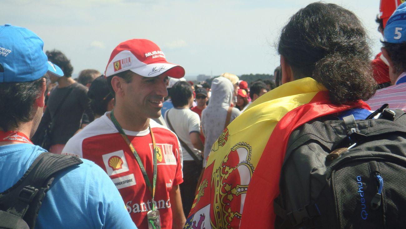 Marc Gene Scuderia Ferrari test driver F1 Ferrari Test Driver Spanish
