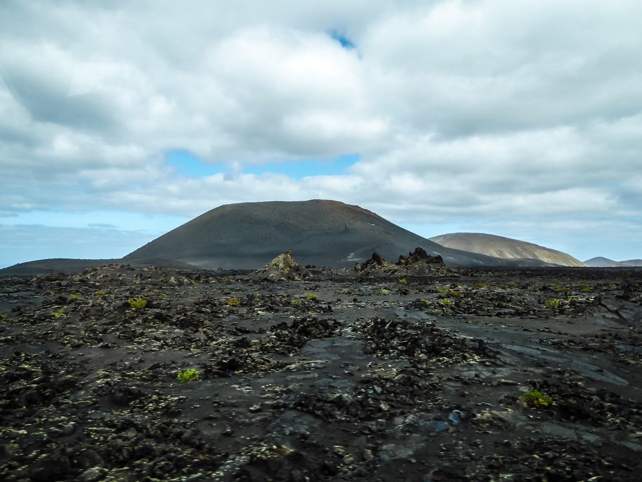 sky, cloud - sky, nature, geology, landscape, tranquil scene, beauty in nature, tranquility, scenics, outdoors, day, volcanic landscape, no people, physical geography, mountain