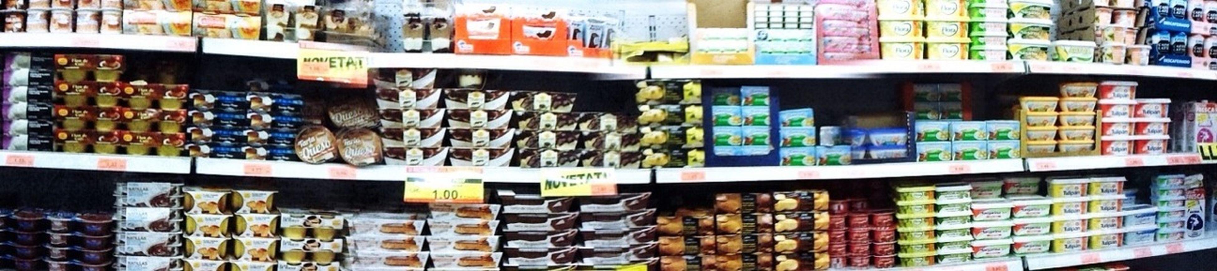 Escollir un iogurt de vegades és complicat Supermercado Supermarket
