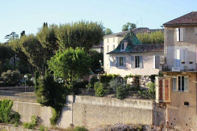 Architecture France Greenroofs Light Rhonealpes Summer Sunlight Vaisonlaromaine