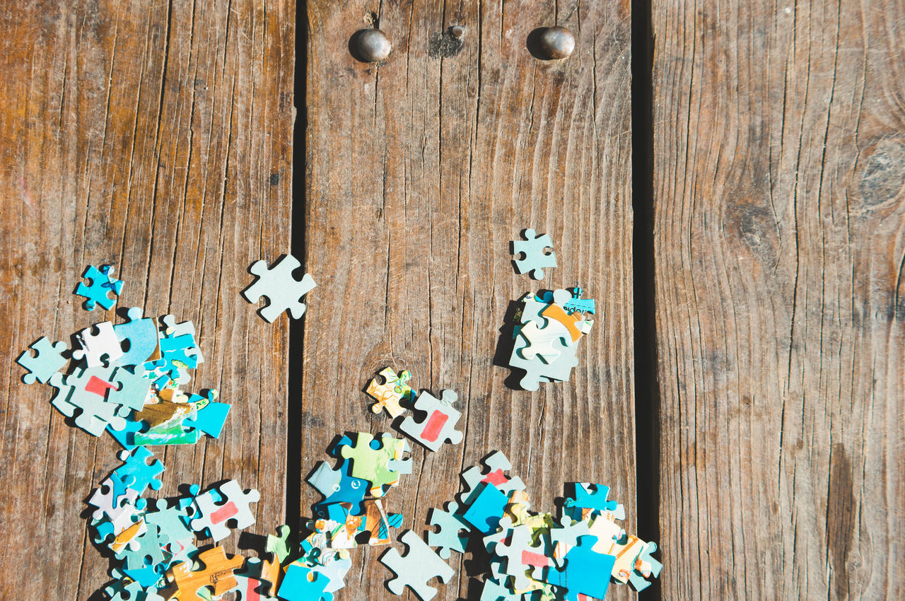 Beautiful stock photos of puzzle, Day, High Angle View, Jigsaw Piece, Jigsaw Puzzle