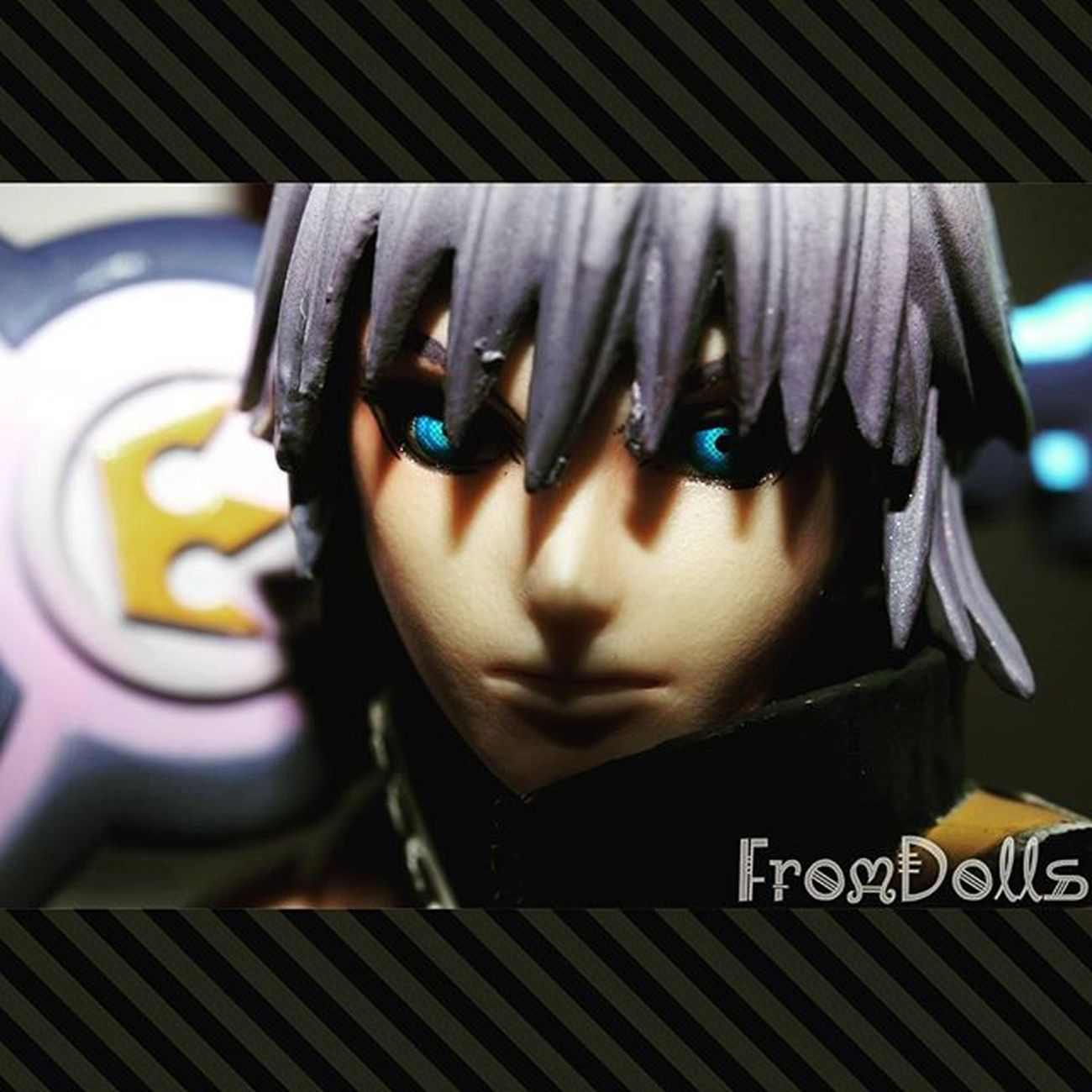 That eyes... Fromdolls Kingdomhearts Kingdomhearts3d Riku Playarts Figure Figura Action Anime Manga Videogames Merchandising Keyblade