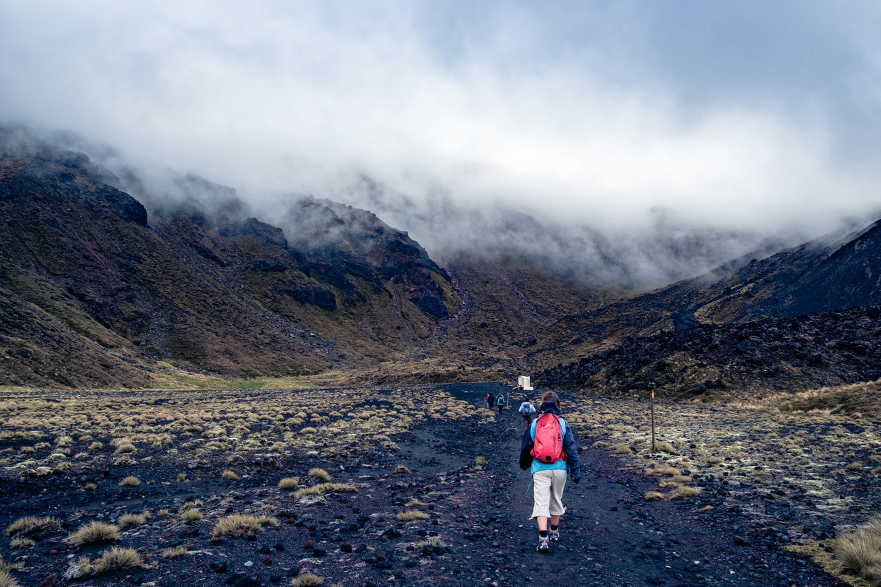 Beautiful stock photos of walk, Adventure, Backpack, Beauty In Nature, Cloud - Sky