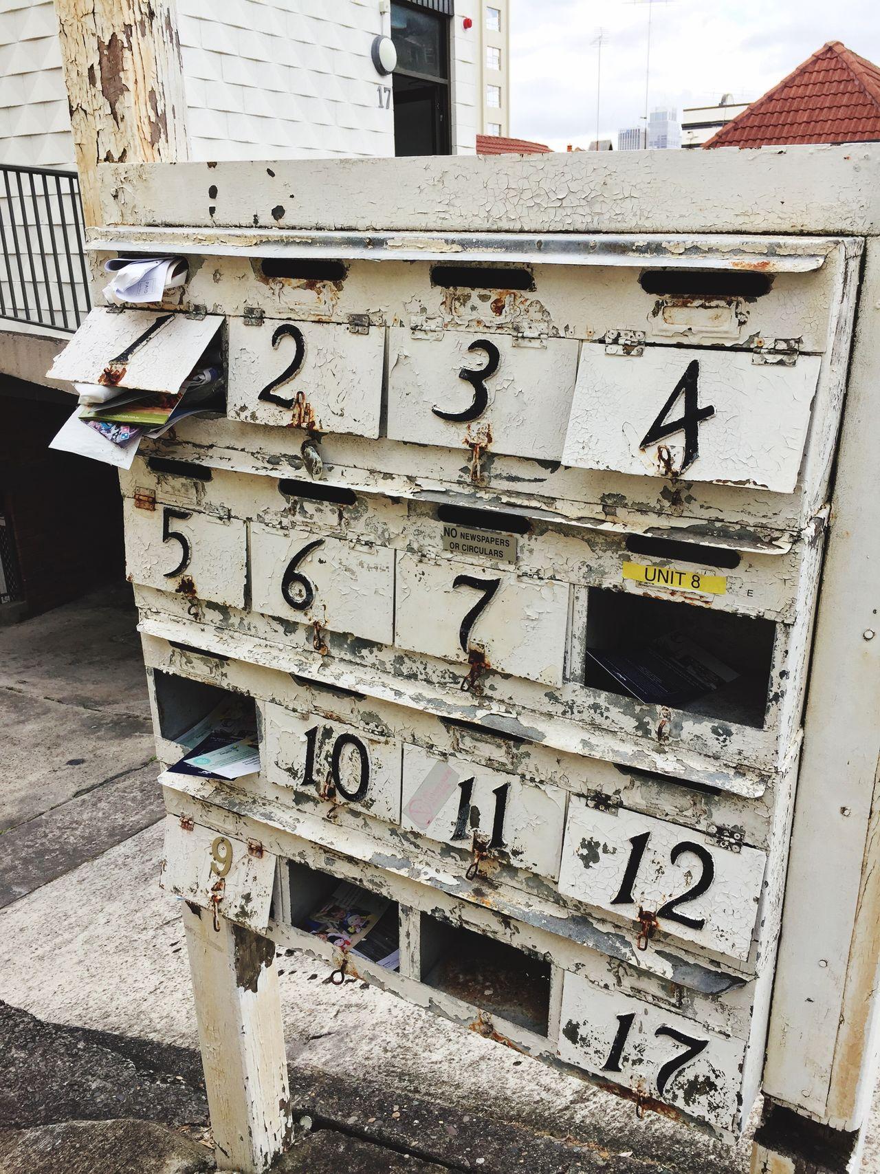 Australia Mailbox Rusty