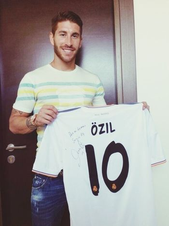 ily Mesut Ozil Sergio Ramos  I Love Real Madrid ♥♥
