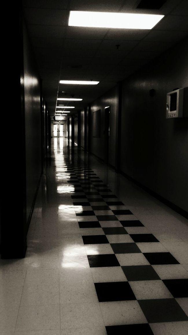 Film Noir Noir Black Blackandwhite Hallway Dark Bright Light Taking Photos Pathway Door Light White
