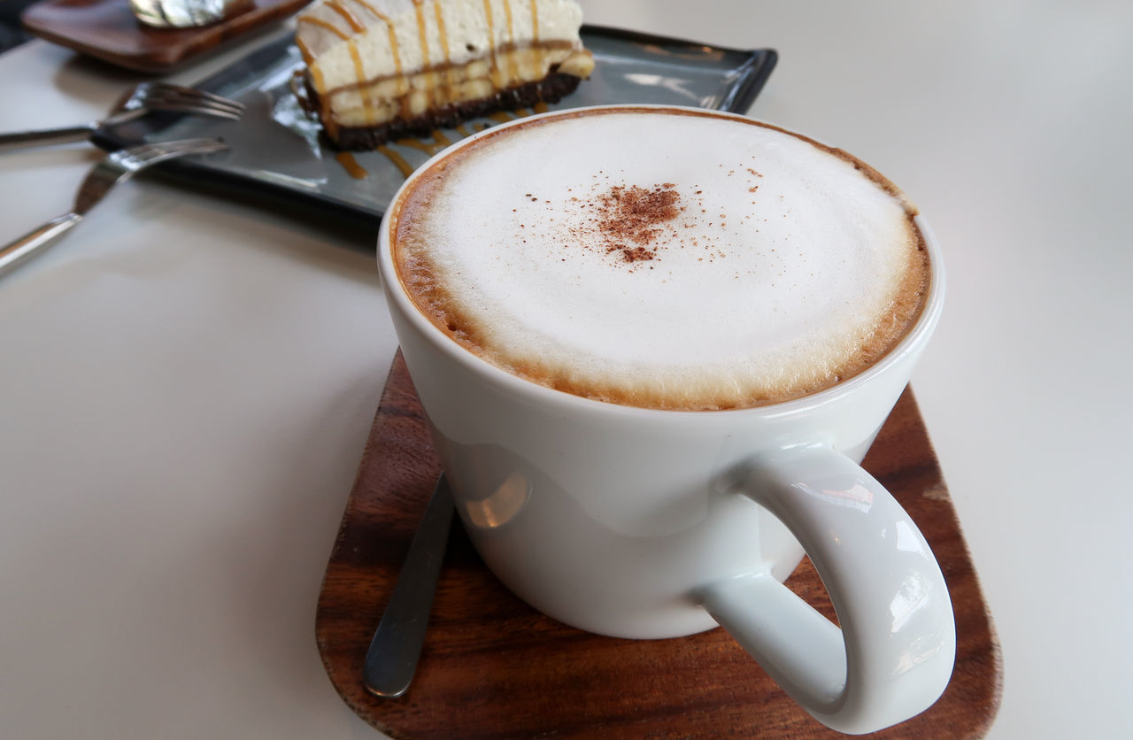 Cappuccino Close-up Coffee - Drink Coffee Cup Day Drink Food And Drink Freshness Froth Froth Art Frothy Drink High Angle View Indoors  No People Refreshment Saucer Table
