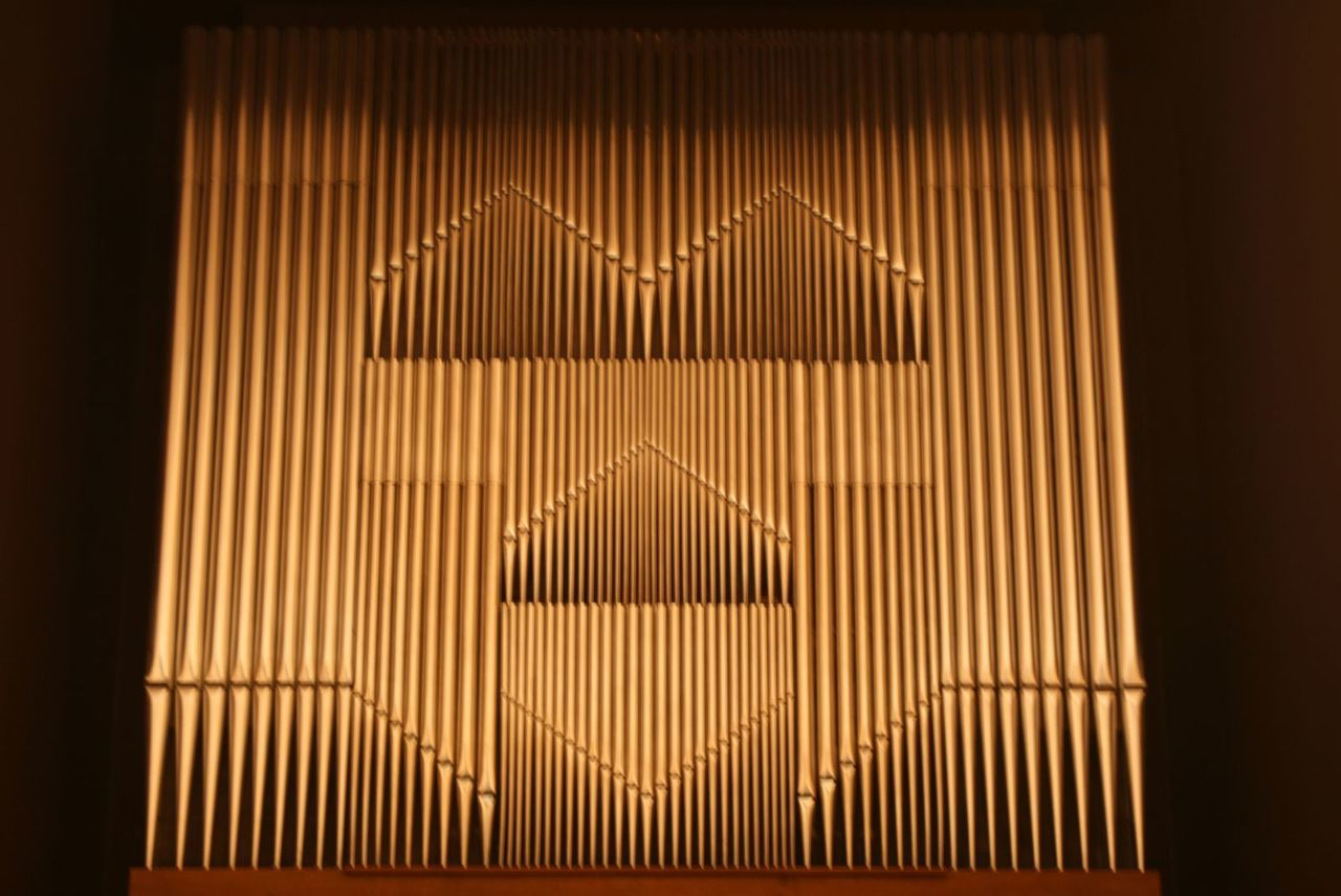 pattern, indoors, no people, curtain, illuminated, blinds, close-up, day
