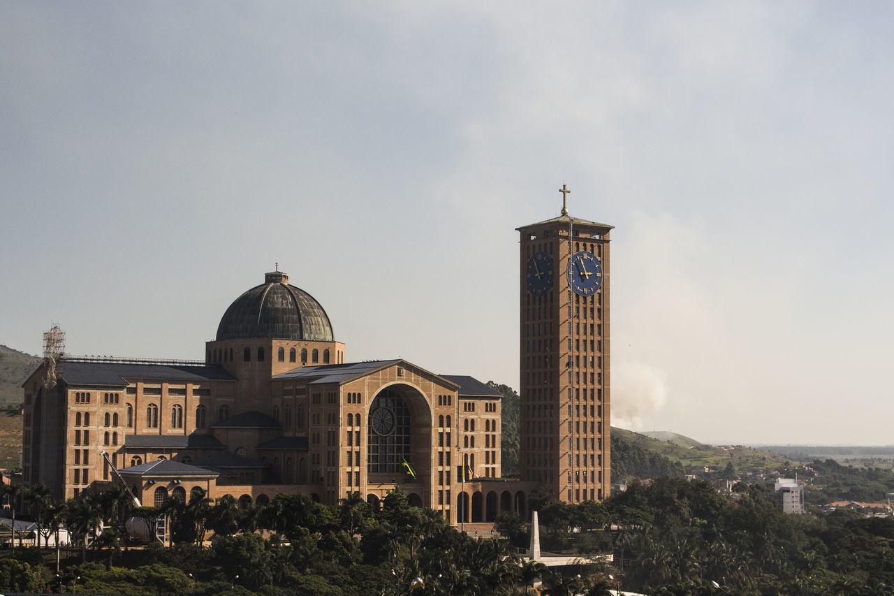 Architecture City Dome Igreja Nossa Da Aparecida No People Nossa Senhora Aparecida Outdoors Sky
