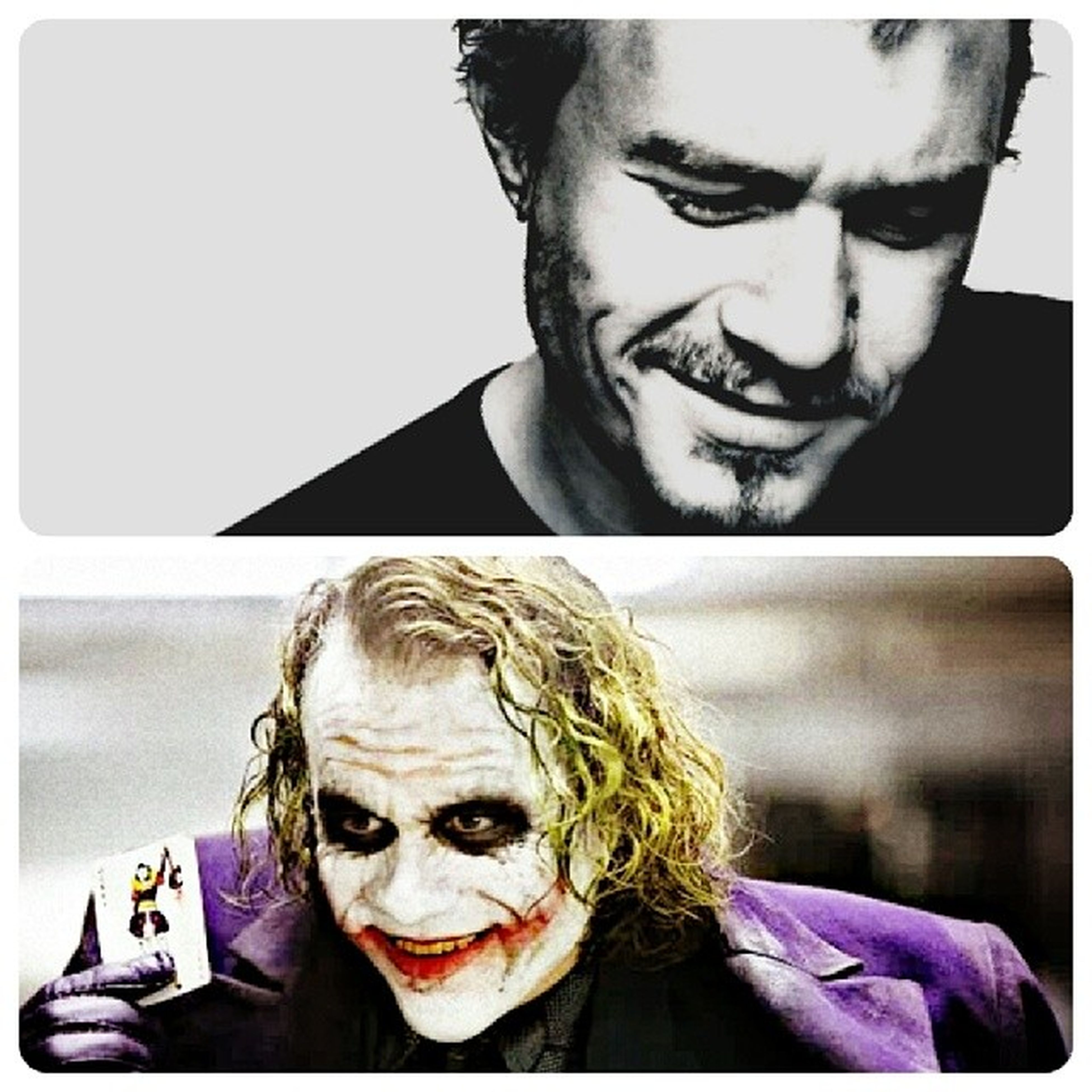 I just realised that Heath Ledger and my dad share the same birthday. My dad turned 53 years old yesterday. Heath Ledger would have been 35. HappyBirthdayHeathLedger