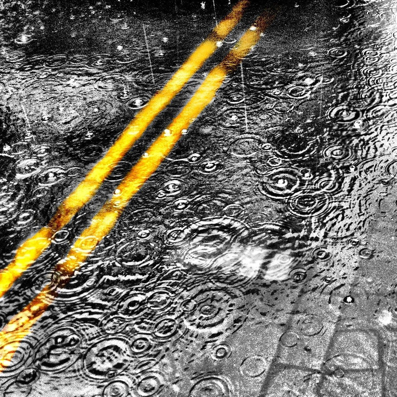 Beautiful stock photos of storm, Cobblestone, Day, Directly Above, Double Yellow Line