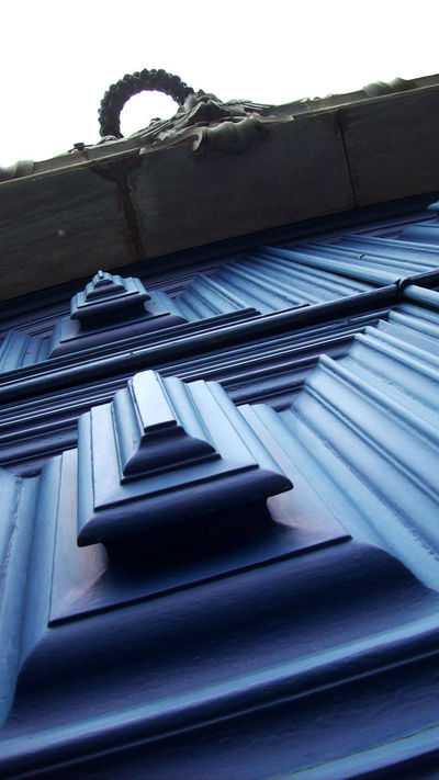 Architectural Detail Architecture Architecture_collection Blue Church Architecture Close-up Day Door Historical Architecture Historical Building Low Angle View No People Tiradentes -MG Tiradentes Town