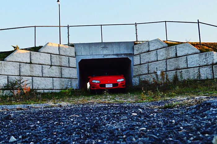 Photoshoot No People Built Structure Outdoors Land Vehicle Architecture Nature Day Tunnel Road Sportscar Landscape Nikonphotography Photoshoot Photography Chevy Chevrolet Camaro Beautiful Beauty In Nature Car American Muscle Clear Sky Sunset Sunlight History