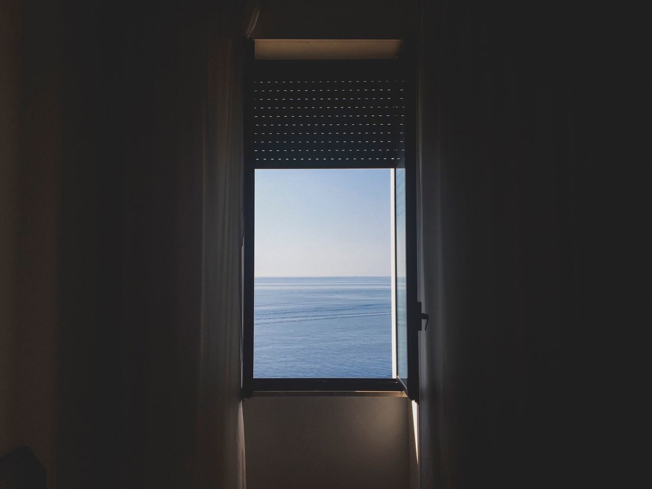Dream Window Sea Sea And Sky High Contrast +5 Turnbacktime Summer Winter Light Shadow Room Goodvibes Santa Cesarea Terme Day Italy Italia David De La Cruz Delacruzfotografia Colors No People