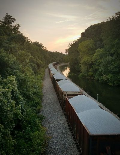 Outdoors Trainphotography
